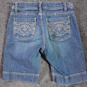 Lee Bermuda Blue Jean Shorts